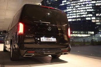 Mercedes V-Class внешний обвес