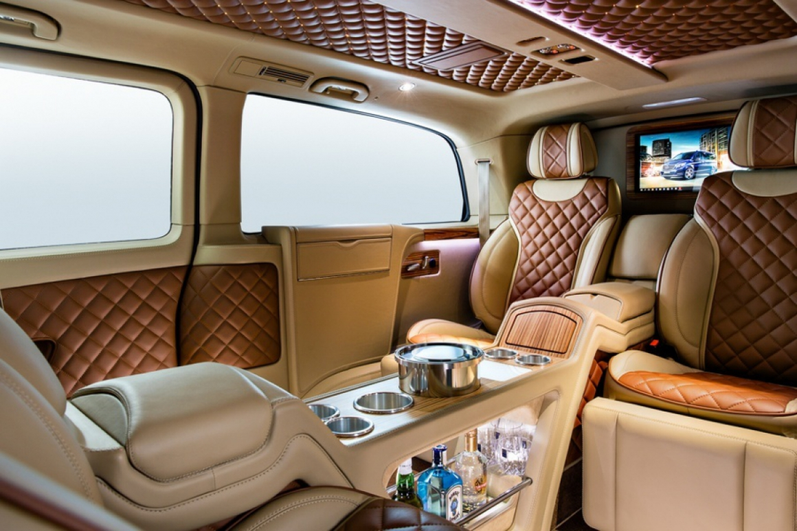 MERCEDES V-CLASS 2016 BY CARISMA