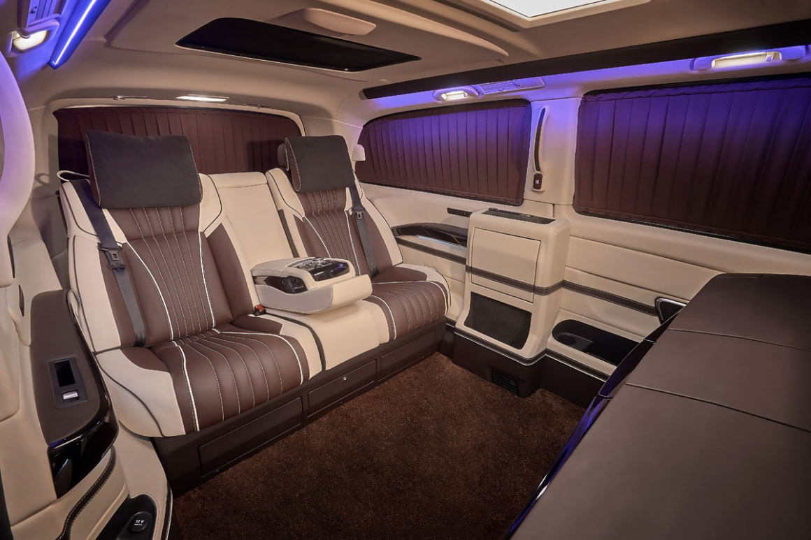 Mercedes V-Class VIP 4 person
