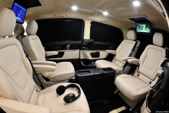 Mercedes V-Class Brabus тюнинг салона