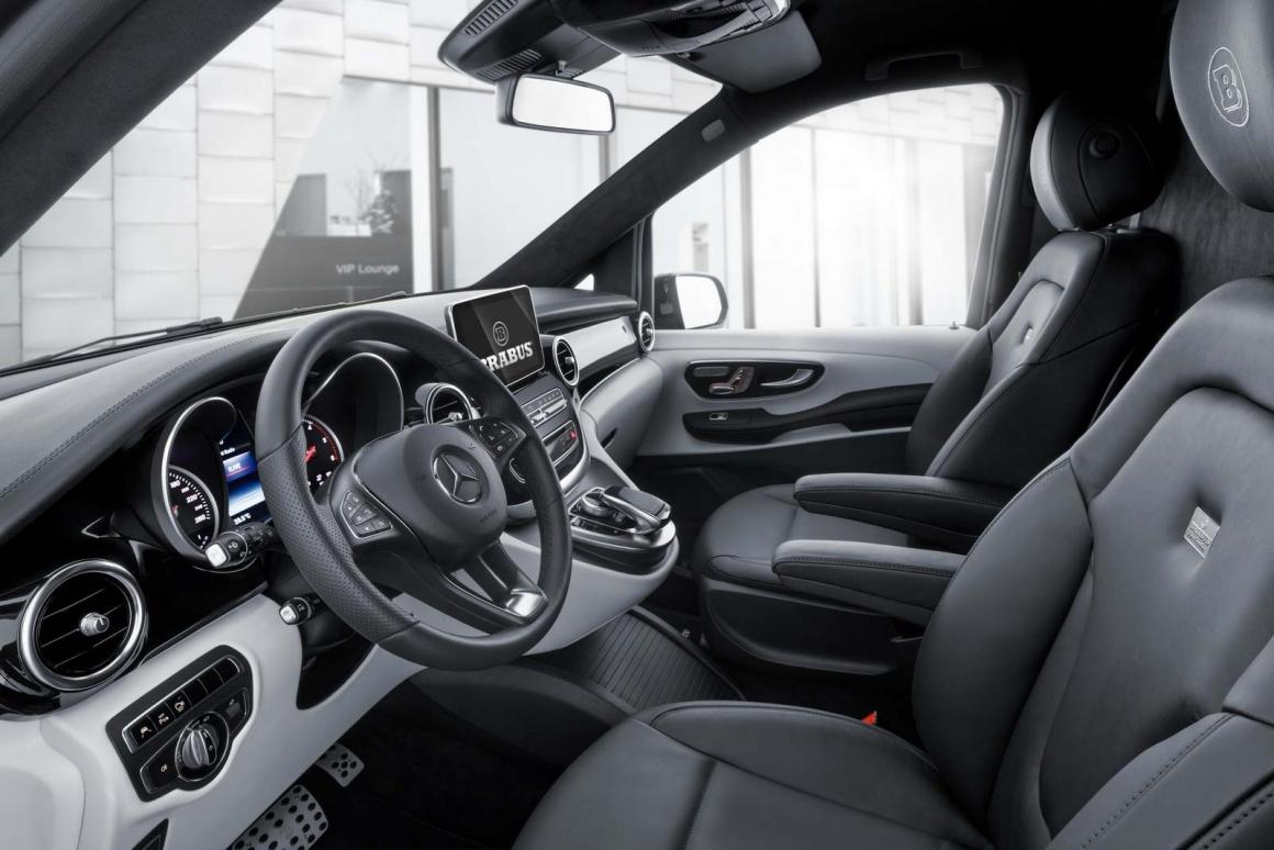Mercedes V-Class Brabus Тюнинг