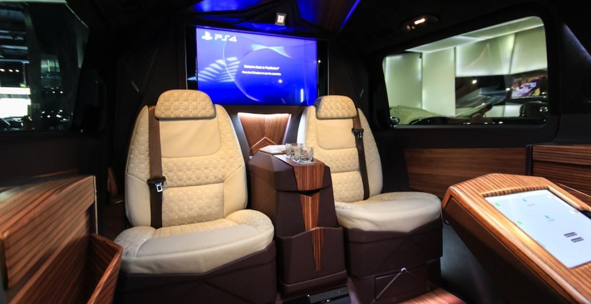 кресла Mercedes V-Class