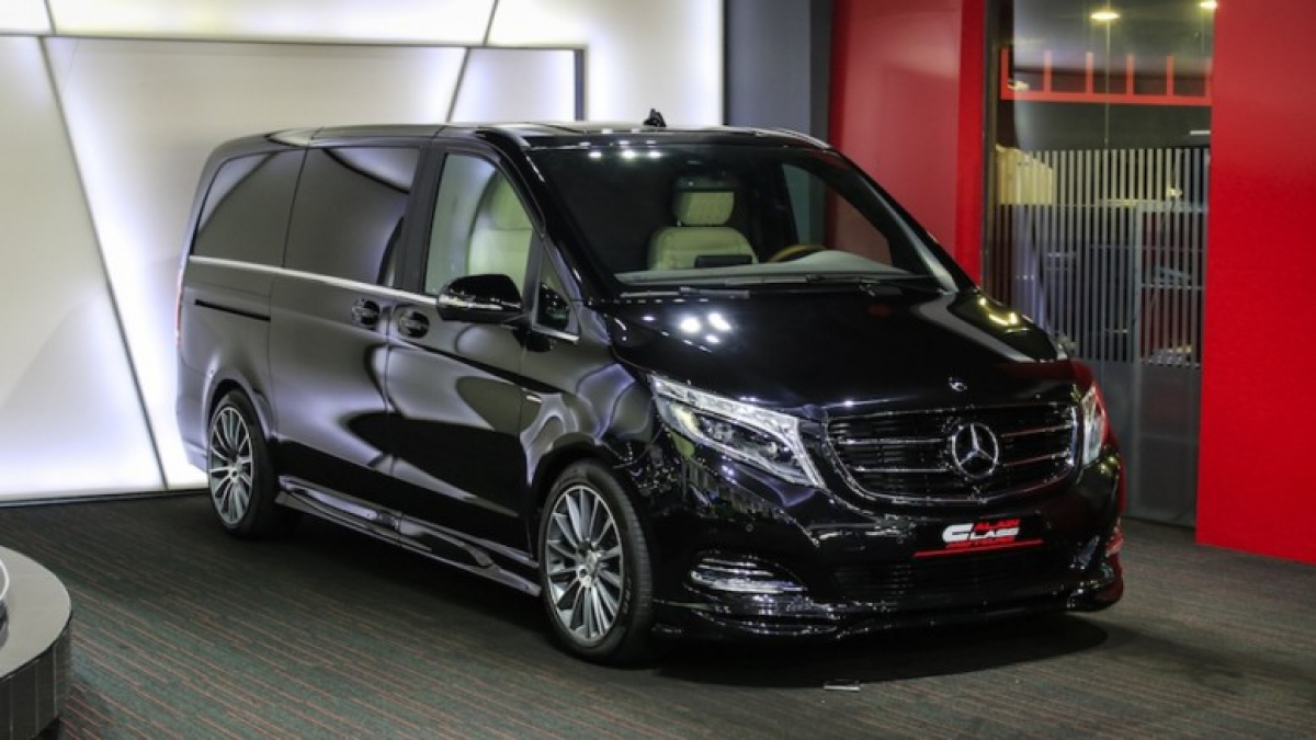 внешний тюнинг Mercedes V-Class