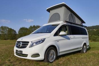 Mercedes V-Class Hymer Camper
