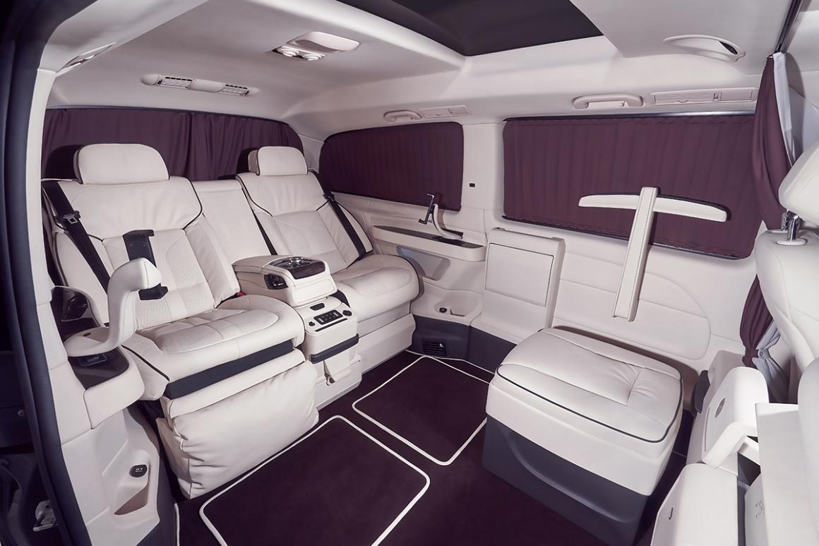 """""""Офис на колесах"""" Mercedes V-Class"""