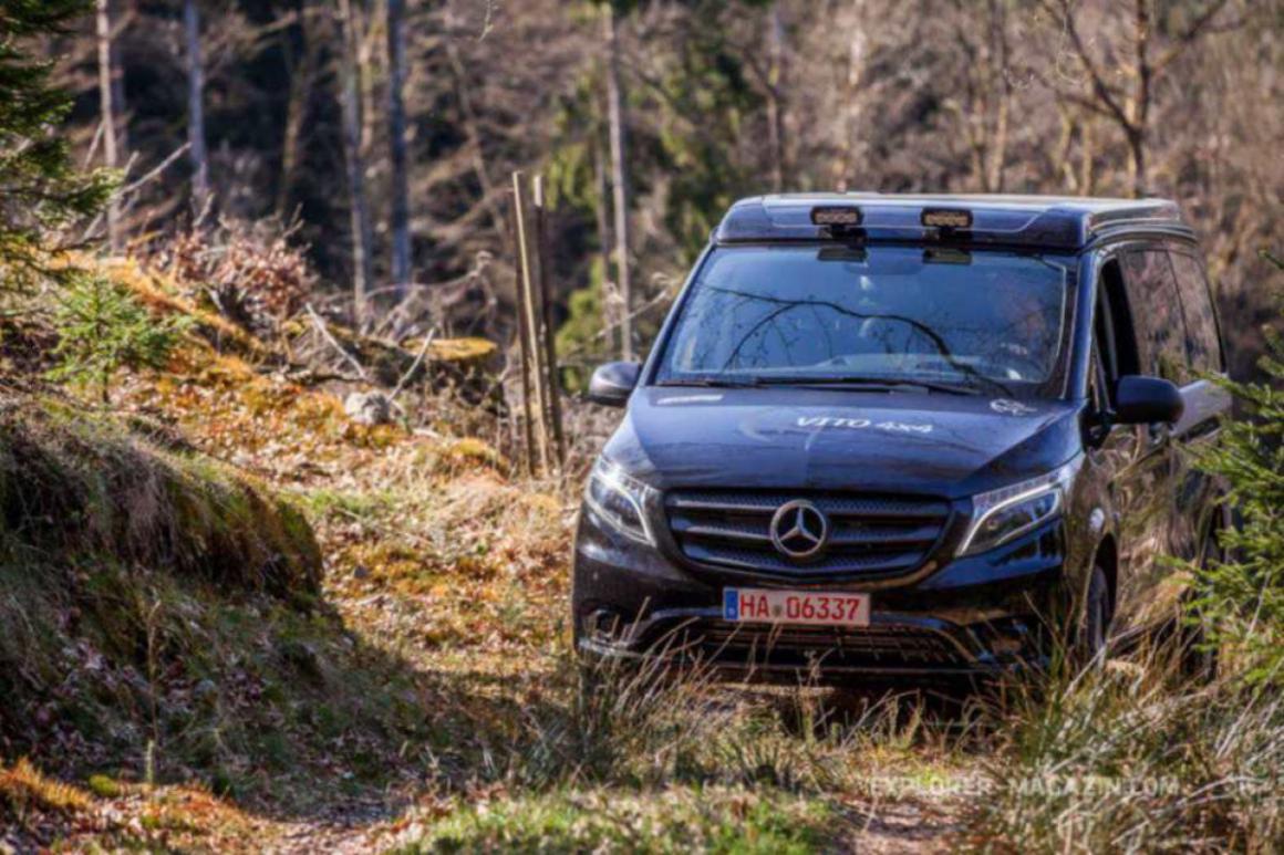 Пневмоподвеска Mercedes V-Class (Vito)